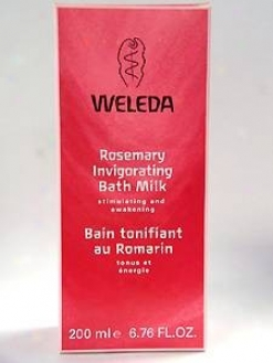 Weleda Body Care's RosemaryB ath Milk