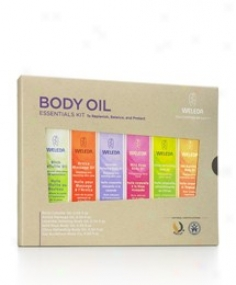 Weledq Body Oil Essential Kit 6pc