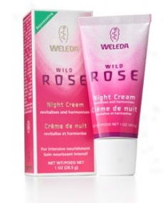 Weleda Night Cream Wild Rose 1oz