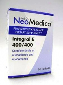 Yasoo Health's Intergral E 60 Gels