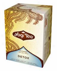 Yogi's Detox Infusion  Organic 16tbags
