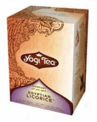 Yogi's Egyptian Licorice Spice Tea Organic 16tbags