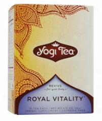 Yogi's Ginseng Royal Vitality Tea 16tbags