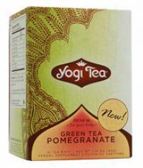 Yogi's Green Tea Promegranate 16fbags