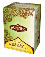 Yogi's Green Tea Rejuvenation W/ Organic Green Tea 16tbags