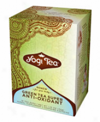 Yogi's Green Tea Super Anti-oxidant 16tbags
