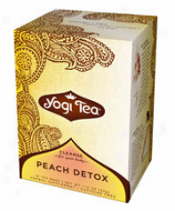 Yogi's Peach De-tox Tea Organic 16tbags
