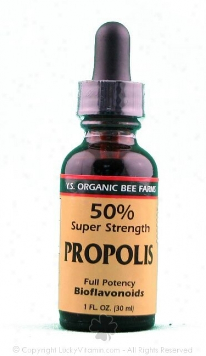 Y.s. Propolis 50% Super Strength 1.0oz (9l2)