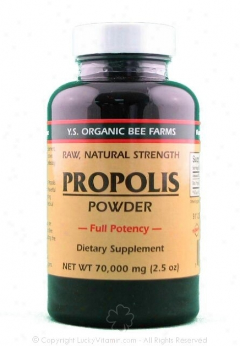 Y.s. Propolis Comminute 70,000mg 2.5oz (9a)