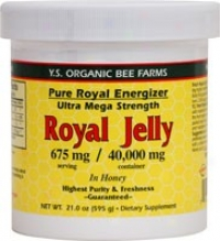 Y.s. Pure Magnificent Energizer: 40,000mg Fresh Royal Jelly In Honey 21oz (510)