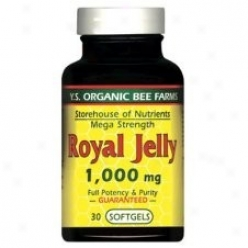 Y.s. Royal Jelly Mega Strength 1000mg 60sg (728)