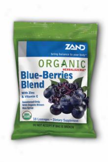 Zand Organic Lozenges Blu3 Berries 18lzgs